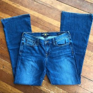 Lucky Brand Sweet'N Flare Jeans, size 8/29